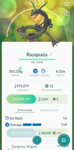 Pokemon Go Legendary Shiny Rayquaza Registered Or 30 Days Safe Cheap And Fast