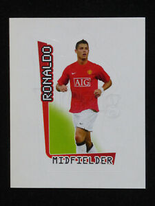 2007 2008 Barclays Premier League Merlin sticker #366 Cristiano Ronaldo Man Un