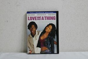 Love Dont Cost a Thing DVD 2004 Full Screen FREE SHIPPING $20.00