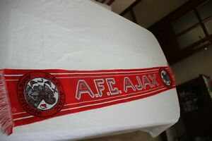 Scarf Vintage of The a. F. C. ajax Amsterdam With the Shield Antique Kit $17.89