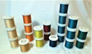 YLI QUILTING THREAD 500 YARDS SOLIDS SEWING SPOOL $8.50
