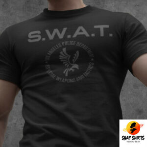 NEW SWAT LAPD Los Angeles Police Dep TV Series S.W.A.T. Reboot Inspired T shirt $19.95
