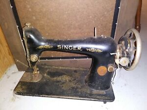Old Singer Sewing Machine The SINGER MFG Co. Parts Only $40.00