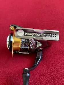 SHIMANO VANQUISH 2500 HGS Made in Japan Saltwater or Fresh A condition