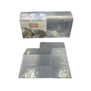 Pokemon Booster Box Plastic Protector Case Best Clear Protective Display 5pc $29.99
