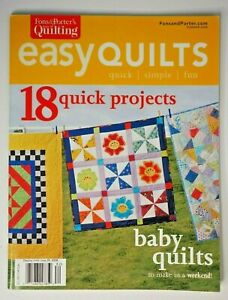 Fons and Porters Love of Quilting Summer 2008 easy Baby Quilts 18 projects $6.95