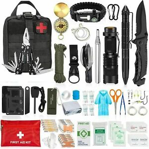 150 in1 Survival Outdoor Kits Military Tactical EDC Emergency Gear Camping Tools