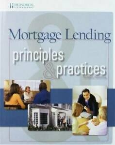 Mortgage Lending Principles Practices 7th edition Perfect Paperback GOOD $31.29
