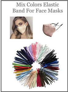 Mix Colors DIY Mask Sewing Elastic Band with Adjustable Buckle. $7.95