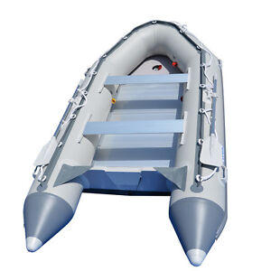 BRIS 12.5ft Inflatable Boat Inflatable Dinghy Rescue amp; Dive Raft Fishing Boat