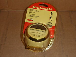 KitchenAid Digital Timer Cooks Series Cook For The Cure KAT150WH NIP White