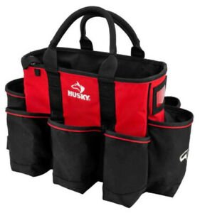 Husky HD60014 TH 14 in. Wide Mouth Water Resistant Supply Bag