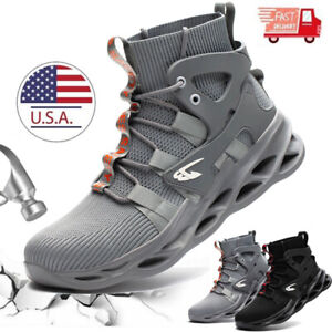 Mens Work Boots Steel Toe Cap Safety Shoes Indestructible Sneakers Bulletproof $48.99