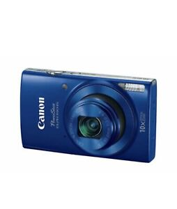 Canon PowerShot ELPH 190 IS Blue with 10x Optical Zoom and Built In Wi Fi $155.00