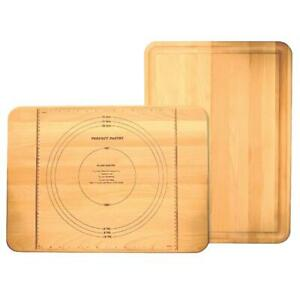 Catskill Craftsmen Pastry Cutting Board Wooden Wooden Flat Grain Rounded Edges