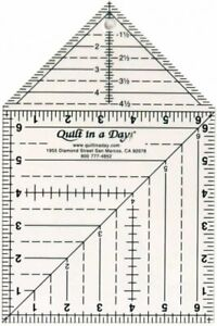 The Double Square Up Ruler by Quilt in a Day $19.00