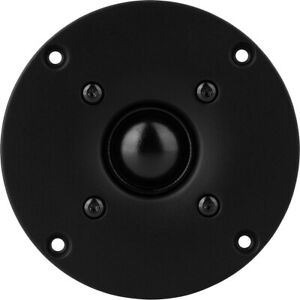 Peerless BC25TG15 04 by Tymphany 1quot; Silk Dome Tweeter 4 Ohm Black