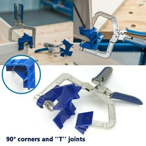 90° Right Angle Clamps Corner Clamp tools for Carpenter Welding Wood working $22.99