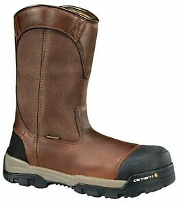 Carhartt CME1355 Mens Ground Force 10 Composite Toe Wellington Boot Work Shoes $150.00