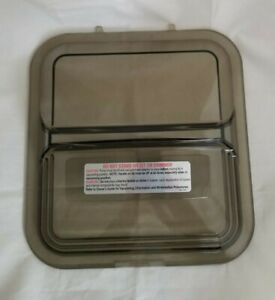 Doughboy Deluxe skimmer lid 1107 1356 Clear tinted black