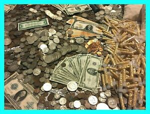 ✯ESTATE LOT OLD US COINS ✯GOLD .999 SILVER BARS BULLION✯ MONEY HOARD PCGS OLD✯ $37.50