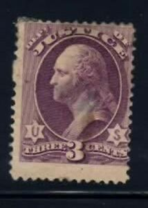 O106 Justice 3 cent Official Stamp mint no gum $40.00
