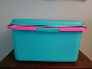Large Eagle CraftStor Plastic Craft Sewing Storage Organizer Tote with Handles $34.99