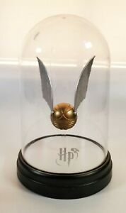 Harry Potter Golden Snitch Bell Jar Light Lamp Quidditch LED USB Collectible $25.00