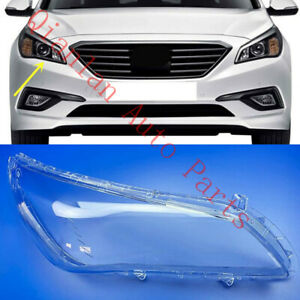 Fit For Hyundai Sonata 2015 17s Replace Right Side Clear headlight cover PCGlue $65.80