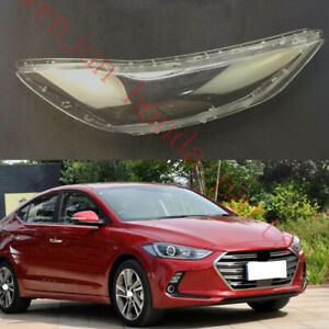 Replace Right Side Clear headlight cover PCGlue For Hyundai Elantra 2017 2018ss $56.40