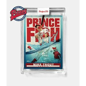 Topps Project 70 Card 290 1998 Mike Trout by Quiccs Presale