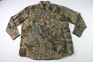 CAMCO Men's Camo Jacket XXL Camouflage Vintage USA Military Hunting 2XL