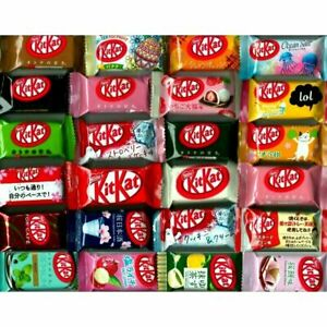 Japanese kit kats mini kitkats 24P ALL DIFFERENT flavors candy Ships From USA $22.99