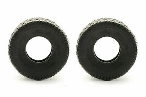 TWO 15X6.00 6 Lawn Tractor Turf Lawn 15X6 6 2 Ply Rated Lawn Mower Set Two Tires $30.00