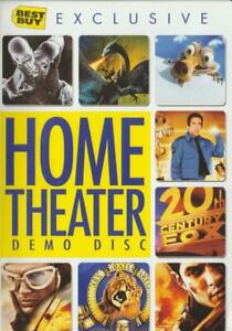 Best Buy Exclusive: Home Theater Demo Disc DVD VIDEO movie trailers system THX