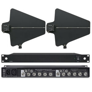 UHF Active Directional Antenna Power Distribution System for shure wireless MIC $328.00