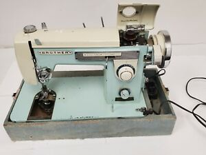 Vintage Brother Zig Zag Heavy Sewing Machine Needs Belt and Plate $89.95