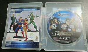 DC Universe Online Sony PlayStation 3 2011 PS3 Complete CIB
