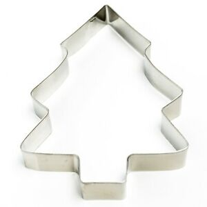 Christmas Tree Large Cookie Cutter ClayFruitFondant Cutter Christmas Cutter AU $3.50