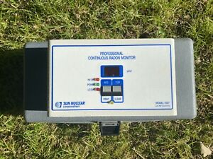Sun Nuclear 1027 Professional Continuous Radon Monitor Used in Good Condition