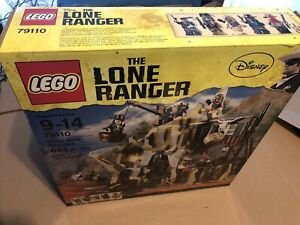 Lego The Lone Ranger Silver Mine Shootout 79110 new sealed DENTED BOX TEAR BACK $100.00