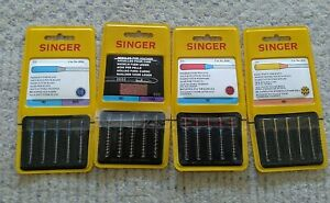 LOT OF 20 SINGER NEEDLES ASSORTED NEW Red 2026 20452020 2032 $14.40