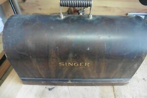 vintage wooden singer sewing machine box cover $45.00
