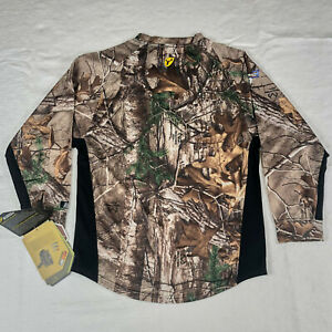 Scent Blocker Youth Hunting 8th Layer L S Shirt Realtree Xtra Camo 8THLSY Xl