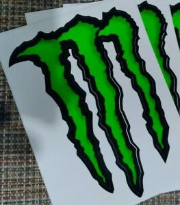 Monster Energy M Claw Sticker 6 x 8.5 Decals NEW $3.00