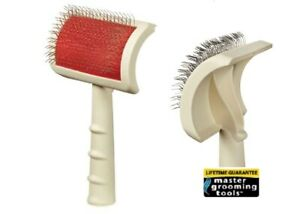 MGT Soft UNIVERSAL PET SLICKER BRUSH SMALL Curved Back*Compare to Oscar Frank $16.99