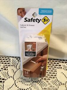 Safety 1st Baby Cabinet Drawer Latches 14 Pack NEW $8.25