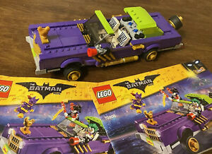 70906 LEGO Batman Movie: The Joker Notorious Lowrider 100% Car amp; Manuals Only