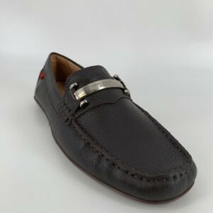 Marc Joseph Mens Bryant Park Driving Loafers Shoes Brown Moc Toe Slip On 9.5 New $35.99