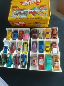 Vintage Hot Wheels Mixed Cars amp; Case Lot of 24